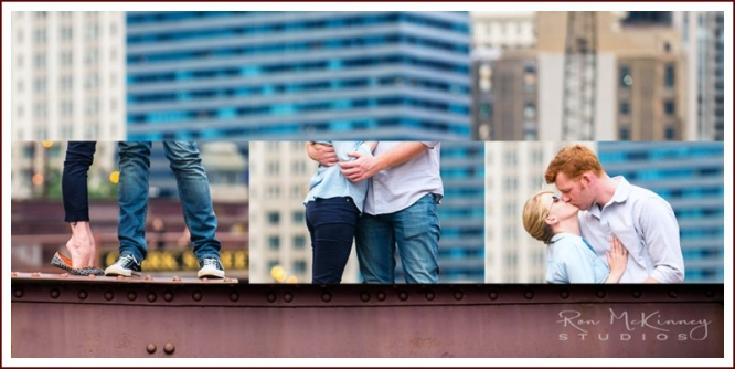 Chicago and suburban engagement photographs
